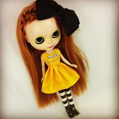 Fern wearing a Monster Dress by Kookanoid