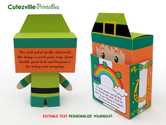 PDF Printable St. Patrick's Day Leprechaun Gift Box - Editable Text Personalize Yourself (Cutezville Printables) Tags: ireland horse irish orange cloud cute green hat st digital paper print shoe gold design diy rainbow day message printer box drawing text craft folklore tags pot fairy card gift elements lucky download pdf treat write patricks etsy clover greeting charms template goody edit papermaking leprechaun personalize giftbox printables printable cutesville changeable editable personalise papergoods printyourself treatbox cuteideas paperelements cutezville