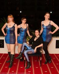Black Milk Tardis Group-1 (dustinleitzel) Tags: fashion dress doctorwho tardis leggings katsucon blackmilk