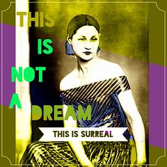 Valentine Penrose tribute (Motel SunRay) Tags: artist surrealism valentine poet popsurreal retrosurreal phoster