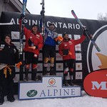 BC Team's Brodie Seger wins FIS Slalom in Ontario leading up to U18 Nationals Championships PHOTO CREDIT: JP Daigneault