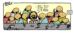 """Jesus Comes Out"" - an Across the Pond comic by eric Hews  2013 (eric Hews) Tags: new gay copyright illustration out fun virginia funny eric artist comic christ drawing jesus humor cartoon emo creative funnies philosophy richmond strip lgbt come bible writer comicstrip illustrator haha cracker sexual toon comes rise risen bethlehem behavior society died 2012 emerge jesuschrist psychology confirmed nazareth admit crucify preference crucified testament suspicions hews erichewscom erichews acrossthepond 2013erichews ennuizle"