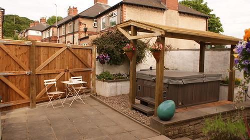 Fencing and Hot Tub Gazebo - Macclesfield Image 11