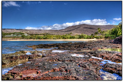 Manele Bay (scrapping61) Tags: beach feast hawaii bay fourseasons tidepools legacy vangogh lanai hypothetical tistheseason masterclass swp vividimagination rockpaper 2013 forgottentreasures greenscene dreamplaces scrapping61 sharingart maxfudge awardtree digitalmasterpiece covertpainters touchofmagic daarklands trolledproud trollieexcellence exoticimage pinnaclephotography digitalartscene