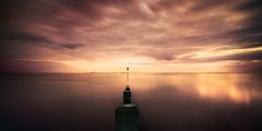 chalkwell (richard carter...) Tags: longexposure sunset seascape groyne essex 1635 chalkwell canoneos5dmk2