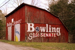 Bowling for State Senate Advertising Barn (SeeMidTN.com (aka Brent)) Tags: barn tn senator tennessee spencer republican vanburencounty statesenate millerfarms statesenator tn30 bmok bmok2 janicebowling