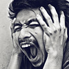 Breakout (RyanRamasola) Tags: portrait blackandwhite bw selfportrait black out break scream noise loud shout breakout