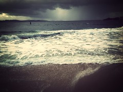 Querer el mar, la costa y la playa. (David Tboas) Tags: praiadesilgar uploaded:by=flickrmobile flickriosapp:filter=mammoth mammothfilter