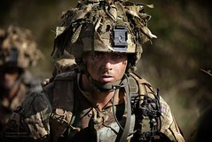 Soldier from the Desert Rats (Defence Images) Tags: africa uk man male soldier army exercise kenya military british defense defence personnel desertrats identifiable