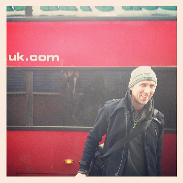 Mr Tom Sweet managed our UK tour a treat -just London show left now :-( #supereverthing