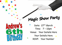 i114j magician magic show (Locketmaid) Tags: show birthday girls boy party castle beach boys girl face kids painting balloons disco kid puppet slumber clown magic climbing invitation childrens invite bouncy sleepover invites invitations magician