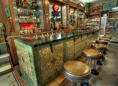 Soda Shop (Ken Yuel Photography) Tags: unitedstates neworleans pharmacy frenchquarter lousiana soda cocacola royalpharmacy digitalagent kenyuel sodashopsodajerk