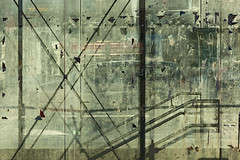 Urban Glass Walls (pni) Tags: street light sun window glass suomi finland helsinki surface dirt through helsingfors remnants skrubu pni pekkanikrus