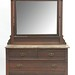 89. Marble Top Victorian Chest with Mirror