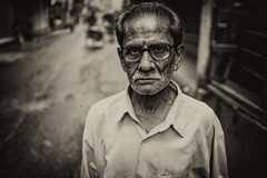 The generosity (Kazi Sudipto) Tags: street old portrait people man nature town us thought general earth mind sacred dhaka generosity mentality prestidge