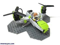 V-22 Rager (Masked Builder) Tags: lego scifi vtol v22 moc rager 2013 mocathalon