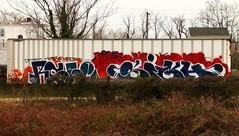 RSEE & SIGH (BLACK VOMIT) Tags: graffiti ol virginia south dirty richmond mc dos va sigh trailer rc mayhem hunt ssp shout rsee