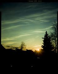 First 4x5 Testshot (baumbaTz) Tags: trees sunset sky cloud sun color tree film st clouds analog photography iso100 evening abend march xpro sonnenuntergang cross kodak atl large himmel wolke wolken super f45 epson 4x5 lf linhof format 100 kit analogue epp ektachrome sonne bäume processed analogphotography baum märz largeformat 2200 schneider testshot kreuznach c41 filmphotography jobo 150mm v500 autolab 2013 tetenal kardan analoguephotography colortec componon atl2200 20130326