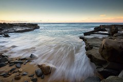 White Lines in the Water (Paul Hollins) Tags: ocean seascape newcastle rocks waves outdoor australia newsouthwales aus cookshill nikond750