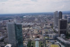 Frankfurt_Ausblick Maintower 2016 (3) (mheckerle) Tags: frankfurt stadt city 2016 architektur architecture view maintower panorama