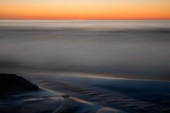 Sunset, Port Elgin, Ontario (Timothy Neesam (GumshoePhotos)) Tags: longexposure sunset ontario water sand waves fuji time greatlakes fujifilm lakehuron portelgin xt1