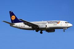 Lufthansa  Boeing 737-330 D-ABEK (widebodies) Tags: genf geneva gva lsgg widebody widebodies plane aircraft flughafen airport flugzeug flugzeugbilder lufthansa boeing 737330 dabek