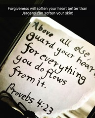 Guard your heart! (13:12 Photography) Tags: forgiving believing hoping loving proverbs423 freeyourheart positivity guardyourheart dontletthesungodownonyouranger morningthoughts