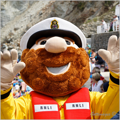 RNLI MASCOT by Philip Gott