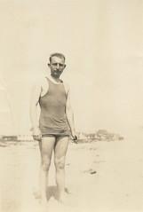 The Thomas Family (jericl cat) Tags: beach swimsuit vintage man thomas family vapineze fairfax asthma men trunks swimming