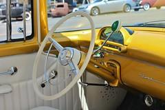 Mooneyes Open House 2016 (USautos98) Tags: 1955 ford fairlane hotrod streetrod kustom interior