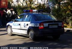 D193 - Opel Astra II - KP Beyce (pawelbednarczyk) Tags: d013 daewoo korando d159 fiat ducato d140 d172 skoda octavia d123 opel astra ii d193 d190 kia sportage d152 corsa d176 aro 245 d173 ford transit d189 fso polonez beyce lubelskie policja radiowz radiowozy komisariat policji hpd