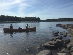 Steph & Dan (Gillian Walker) Tags: crotch lake ontario canoeing camping summer labour day 2016
