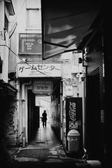 Tsuruhashi (tomorca) Tags: downtown osaka japan street bw