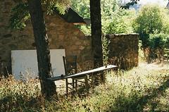 Vers le Col de Montmirat (eflyfree) Tags: argentique byeflyfree caussenoir dxo france fujicolor200 iso200 nikkormat nikkormatft2 nikon