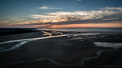 Sunset at Holkham beach (talksrm) Tags: drone norfolk wellsnextthesea sea seaside beach sand sandy sunny sunset evening twilight dji phantom 3 broads holkham hall frenchs fish shop plattens wells lifeboat pinewoods holiday road next marsh northnorfolk coast england dunes boat boats seal seals wetlands salt marshes freshwater lagoons or shingle beaches