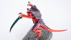 Tyranid Warrior: Scything talons (Will Vale) Tags: tyranids tyranid 40k 28mm tyranidwarrior scifi wh40k gamesworkshop