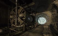 Oh, hello old friend (gabegabe336) Tags: ue urbex exploration explore urban underground subterranean metro station tunnel tbm boring machine
