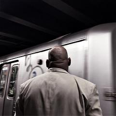 Marcellus (ShelSerkin) Tags: shotoniphone hipstamatic iphone iphoneography squareformat mobilephotography streetphotography candid portrait street blackandwhite nyc newyork newyorkcity gothamist strangersintransit