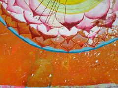 DSC096676 (scott_waterman) Tags: scottwaterman painting paper ink watercolor gouache lotus lotusflower detail pink