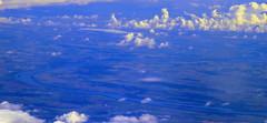 The Beautiful Blue... (oobwoodman) Tags: aerial aerien luftaufnahme luftphoto luftbild istgva thy turkishairlines romania roumanie romnien bulgaria bulgarie bulgarien danube donau river fluss rivire balkan beautifulbluedanube schneblauedonau