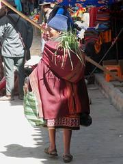 Old woman in Tarabuco (magellano) Tags: tarabuco bolivia mercato mercado market old elderly anziana vecchia donna woman vestito tradizionale traditional dress costume candid