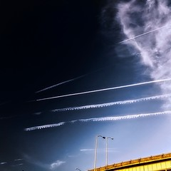 Faster by air… (Jim «JP» Hansen) Tags: img9582 hss iphone hdr sky
