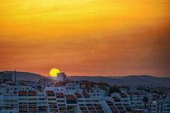 Life is a gift, like the sunlight gifts life (mik-shep) Tags: sunrise orange glow life daylight sun nikon d5200 portugal albufeira awaken