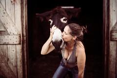 IMG_0296 (vitaminbea (Focus) - bea@vitaminbea.ca) Tags: donkey ne amiti portrait selfie vitaminbea lien animal tendresse