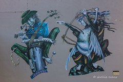 Napier Street Art (flyingkiwigirl) Tags: napier street art cathedral carpark
