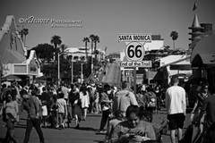 """Route 66 begins/ends"" (eDeaver Photography) Tags: california santamonica pacificocean pacificcoasthighway highway westcoast ocean beach sand water surf surfer surfers sun sunset edeevo edeaver edeaverphotography digitalcreations creations nikon"