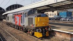 37800 At Newcastle (Uktransportvideos82) Tags: rog railoperationsgroup 37800