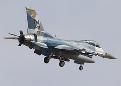 85-1418_F-16C_WA_KLSV_0263 (Mike Head -Jetwashphotos) Tags: lockheed gd generaldynamics f16c fightingfalcon viper 64thagrs 57thatg usaf aggressors lsv klsv nellisafb nv nevada southernnevada desertsouthwest us usa america