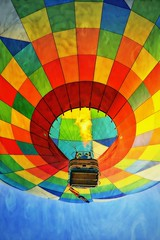The Way To The Top ! (Caroline.32) Tags: hotairballoon balloon nikond7100 nikon55300mmlens happyslidersunday catchycolors rainbow slider texture