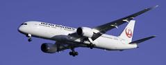 Japan Airlines JA86SJ Boeing 787 (Steven M. Smith) Tags: japan airlines boeing787 airplane flight jet